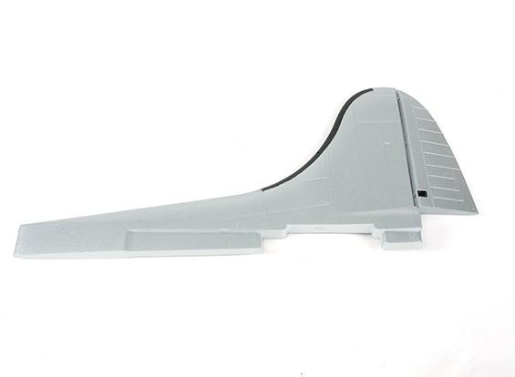 Hobbyking 1875mm B-17 F / G Flying Fortress (V2) (серебро) - Замена вертикального оперения
