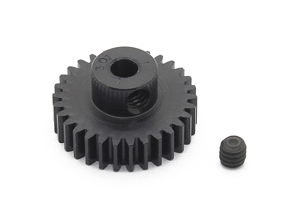 Робинсон Гонки Черный анодированный алюминий шестерней 48 Pitch 30T