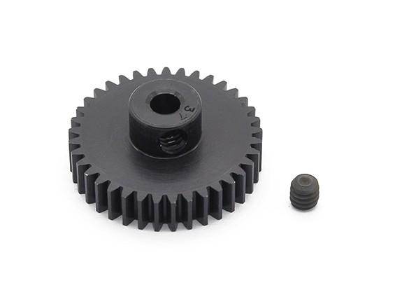 Робинсон Гонки Черный анодированный алюминий шестерней 48 Pitch 37T (AR Склад)
