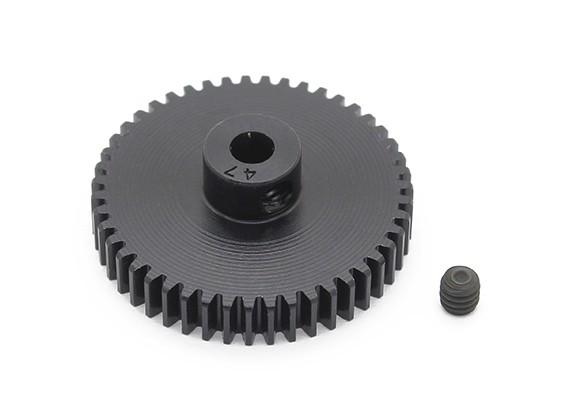 Робинсон Гонки Черный анодированный алюминий шестерней 48 Pitch 47T (AR Склад)