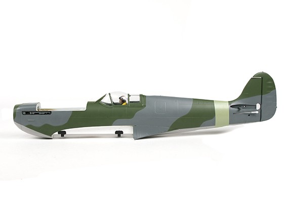 Durafly ™ Spitfire Мк5 ЕТО (зеленый / серый) Фюзеляж