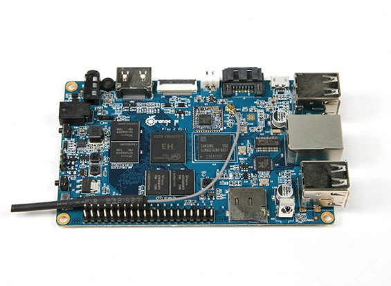 Оранжевый Pi Plus 2 CPU