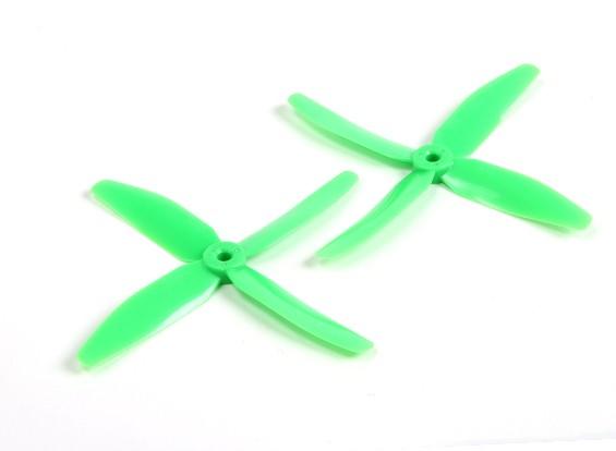 DYS 5040 x 4 лезвия Электрический пропеллеры (CW и CCW) (пара) Зеленый