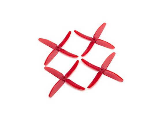 """Dalprops """"нерушимый"""" PC 5040 4-Blade Реквизит Красный (CW / CCW) (2 пары)"""