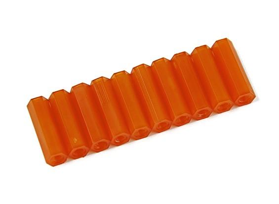 20mm F / F M3 Spacer x10 - Оранжевый