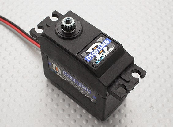D50011MG 57.4g / 9.6kg / 0.08sec High Torque Цифровой сервопривод