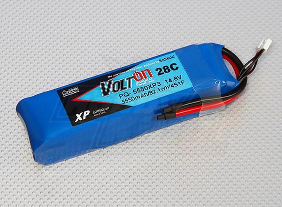 Polyquest XP 5550mAh 4S 28C LiPoly