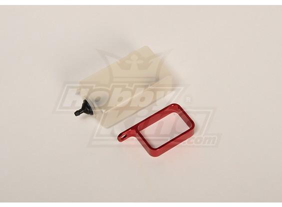 Бачку ж / Металл держатель (красный)