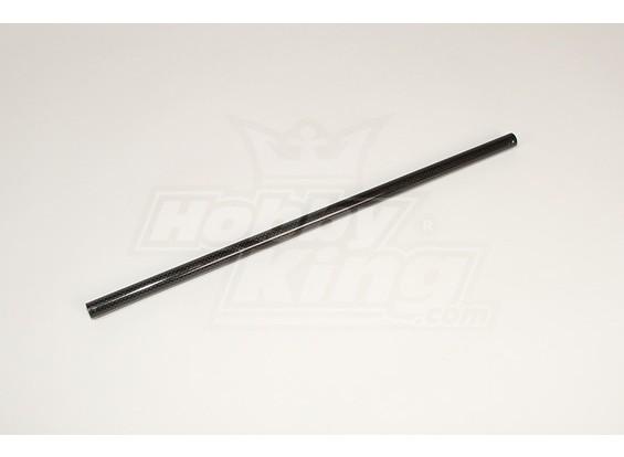 Hirobo / ЛЕПТОН Heli CF Boom 455mm Tail (14mmx15mm)
