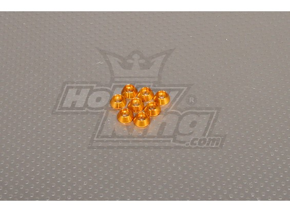 CNC Cap Болт Шайба M3 (3,5 мм) Золото