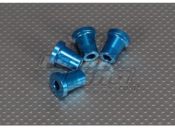 CNC-дюймовый Гильза 20мм (M6,1 / 4 20) Синий