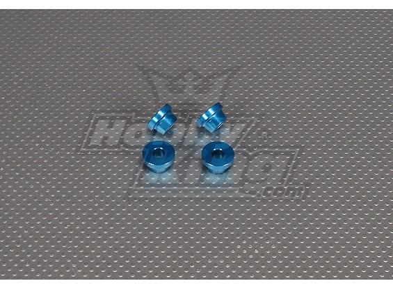 CNC-дюймовый Гильза 10мм (M6,1 / 4 20) Синий