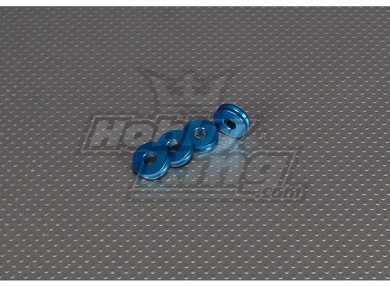 CNC-дюймовый Standoff 5мм (M6,1 / 4 20) Синий
