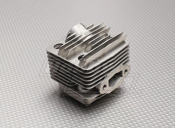 RCGF 26cc Замена цилиндра