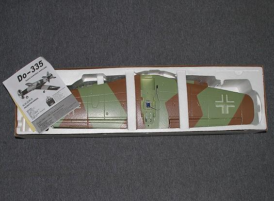 СКРЕСТ / СТОМАТОЛОГИЯ Dornier Do335 тяни / толкай близнец двигателя 935mm (PNF)