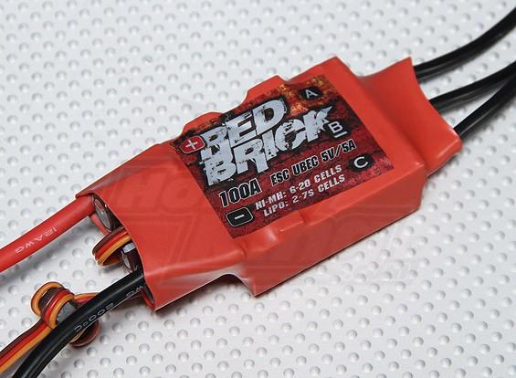HobbyKing Red Brick 100A ESC