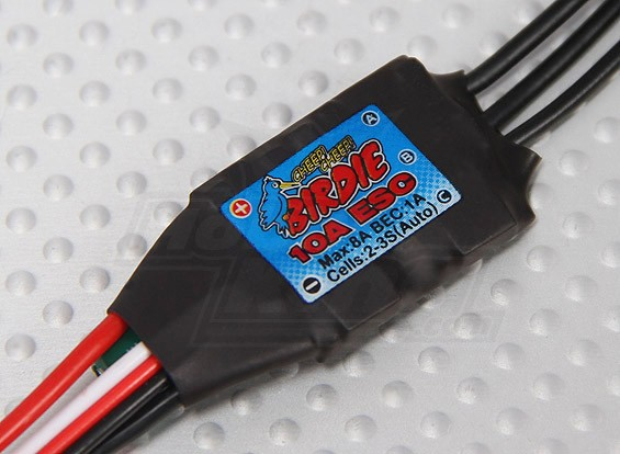 Птичка 10A Brushless ESC ж / 1A BEC