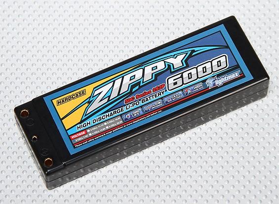 ZIPPY 6000mAh 2S2P 50C Hardcase пакет