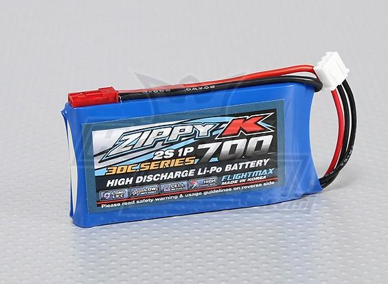 Батарея Zippy-K Flightmax 700mAh 30C 2S1P LiPoly