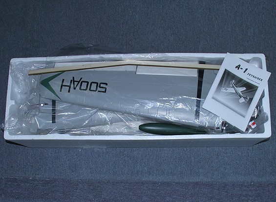 СКРЕСТ / СТОМАТОЛОГИЯ A-1 Skyraider 1600мм ж / Ретракты, закрылки и пневматическими тормозами (ПНФ)
