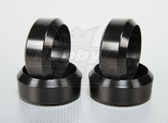 Масштаб 1:10 Hard Plasitc Дрейф шин Установить RC автомобилей 26мм (4шт / комплект)