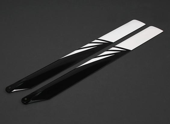 690mm Carbon / Стекловолокно Композитный Лопасти