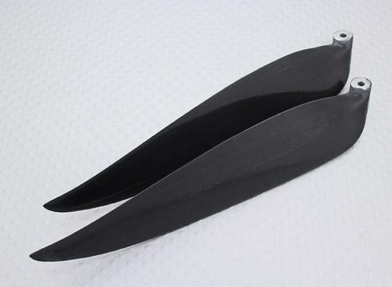 Раскладной углерода Заряженный Пропеллер 13x6.5 черный (КОО) (1шт)