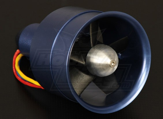 Сплав серии DPS 68mm EDF блок с 2600kv Motor - 1280watt