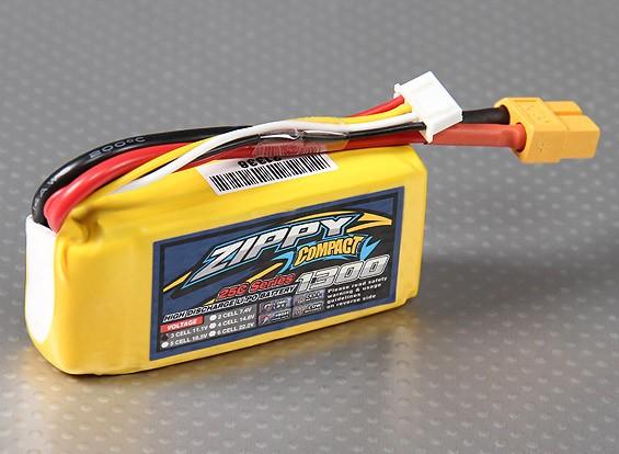 ZIPPY Компактный 1300mAh 3S 25C Lipo обновления