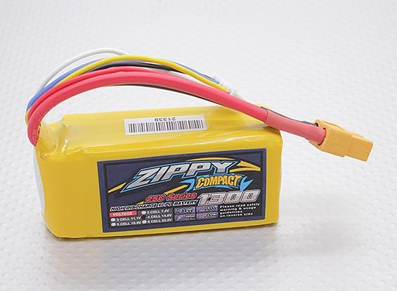 ZIPPY Компактный 1300mAh 4S 25C Lipo обновления