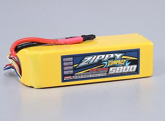 ZIPPY Компактный 5800mAh 7S 25C Lipo обновления