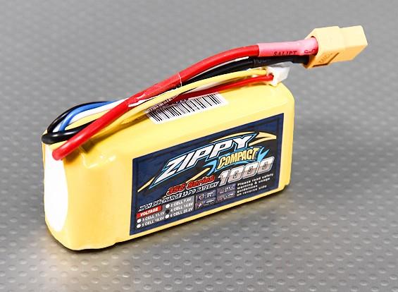 ZIPPY Компактный 1000mAh 4S 35C Lipo обновления