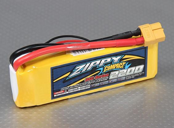 ZIPPY Компактный 2200mAh 2S 35C Lipo обновления