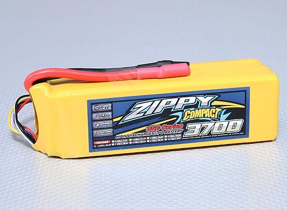 ZIPPY Компактный 3700mAh 6S 35C Lipo обновления