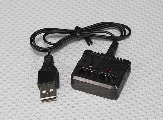 FP100 Вертолет двойное зарядное устройство USB
