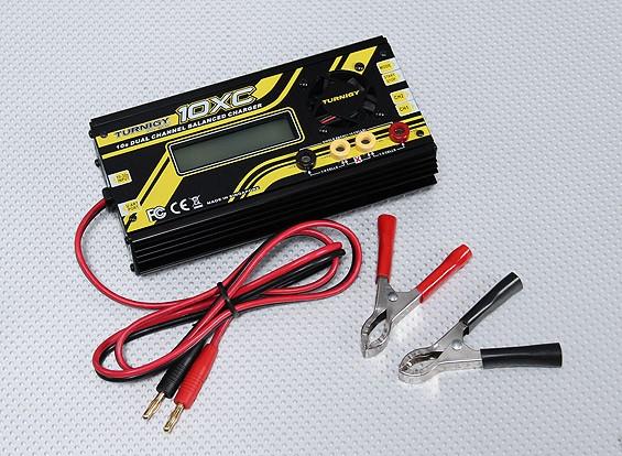Turnigy 10XC 10S 400W 10A двойное зарядное Баланс канала
