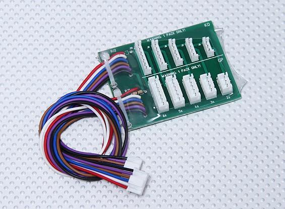 Turnigy 10XC JST-EH / JST-XH Баланс Плата адаптера