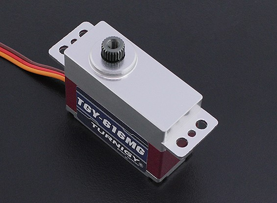 Turnigy ™ TGY-616MG Ultra Fast BB / DS / MG ж / Случай сплава 6.6kg / 0.05sec / 34g