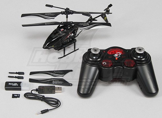 Micro Spycam Вертолет ж / SD Card 1GB (режим 1) (RTF)