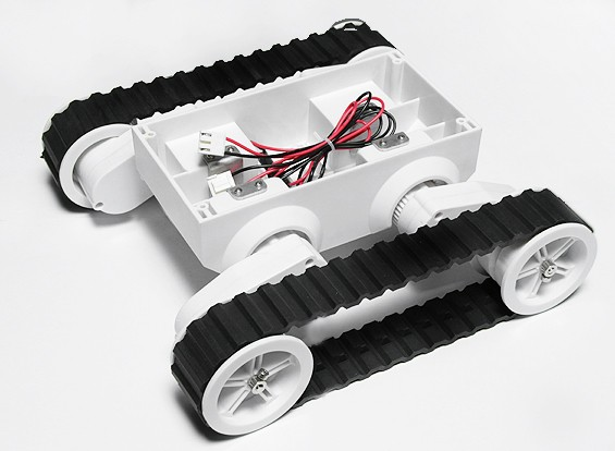Rover 5 гусеничных шасси робота без датчика