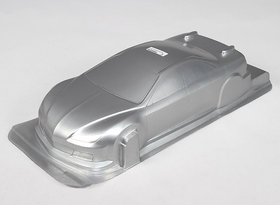 CR 1/10-6R Тело Shell ж / наклейки (серебро)