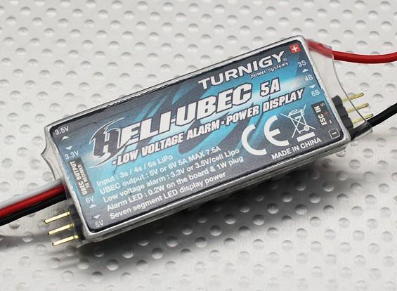 Turnigy 3-в-1 Хели 5A UBEC & сигнализация низкого напряжения (3 ~ 6S)