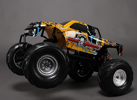 1/10 Quanum Skull Crusher 2WD Brushless Monster Truck (ARR)