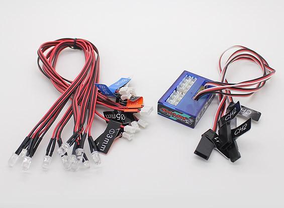 Система освещения Turnigy Смарт LED автомобилей
