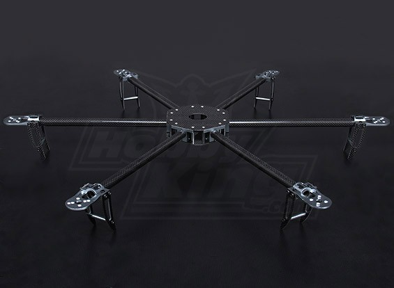 Turnigy Talon Hexcopter (V1.0) Carbon Fiber Frame - 625 мм