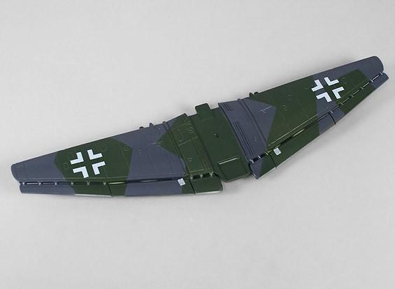 H-King Micro JU-87G-1 Штука - Замена основного крыла