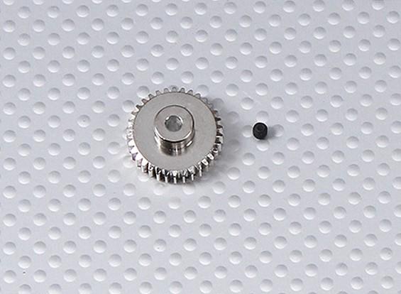 34T / 3.175mm 48 Pitch сталь шестерней