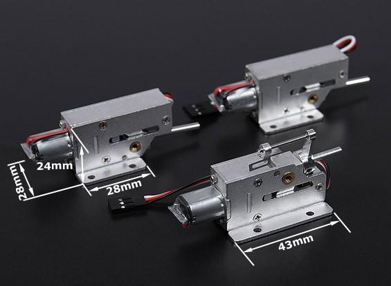 Turnigy MCR Все металлы втянутых система (Small)