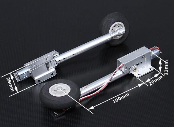 Turnigy Полный металл электрический отвод 80 градусов - Warbird