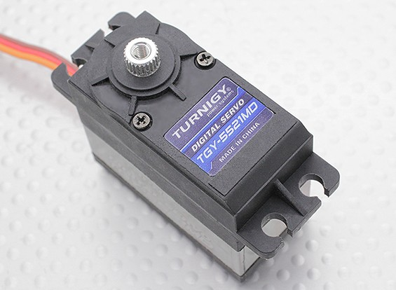 Turnigy ™ TGY-5521MD DS / MG Servo 21кг / 0.14sec / 57.5g